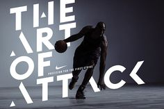 Kobe X — The Art of Attack— Nike Global BasketballTypography and logo lockup design to mark the launch of Kobe X, Kobe Bryant's tenth signature shoe for Nike.
