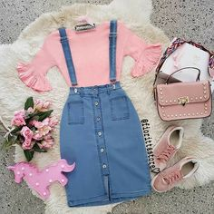 Cute Modest Outfits, Stylish Dresses For Girls, Cute Comfy Outfits, Girly Outfits, Classy Outfits, Pretty Outfits, Stylish Outfits, Girls Fashion Clothes, Teen Fashion Outfits