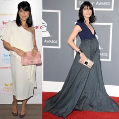 even when she's about to explode, selma blair looks effortless in Lanvin