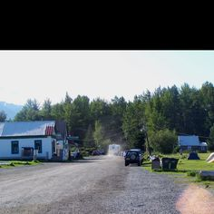 Hope, Alaska - had fun riding our bicycles to town from Porcupine campground.