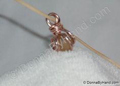 Copper Spiral Pendants