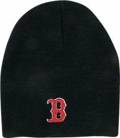 1cbbfae9159f8 MLB Boston Red Sox Men s  47 Brand Raised Knit Beanie