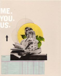 Rhed Fawell - 'Me. You. Us'. - Collage 2016