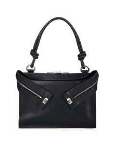 Glenda shoulder bag   Sportmax   love the zippers!