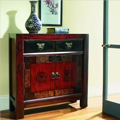 Hooker Furniture Seven Seas Asian Two Door Drawer Hall Chest ** To view further for this item, visit the image link.