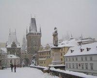 Praga nevada