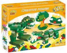 Cobi Creative Power Zielony dinozaur