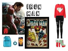 Iron Man by captain-jordan-808 on Polyvore featuring polyvore and art