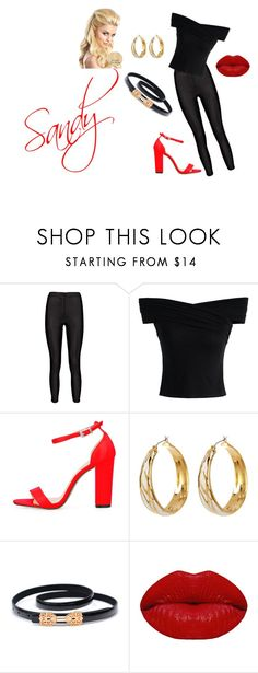 """""""Hopelessly Devoted."""" by nick-alena-delliveneri ❤ liked on Polyvore featuring Chicwish, Diane Von Furstenberg and Winky Lux"""