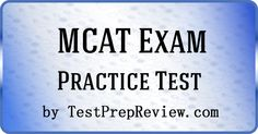The Medical College Admission Exam (MCAT) is widely considered to be one of the most difficult academic tests in existence. It is the official test a person must pass in order to be admitted to a school of medicine in the United States. #mcat
