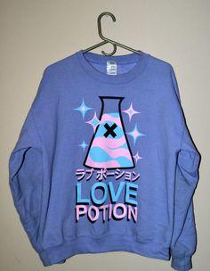 Love Potion Sweatshirt - TOASTYCO.com