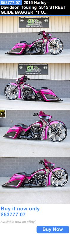 Motorcycles: 2015 Harley-Davidson Touring 2015 Street Glide Bagger *1 Of A Kind* 30 Wheel! Over $70K Inested!! Stunning! BUY IT NOW ONLY: $53777.07
