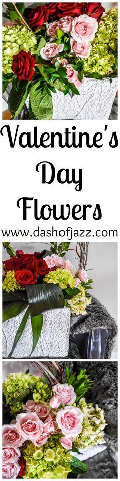 Valentine's Day Flowers | Dash of Jazz