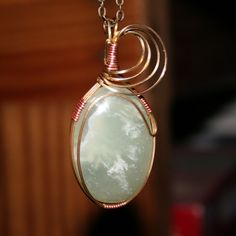 Chinese Jade Wrapped Pendant by =innerdiameter