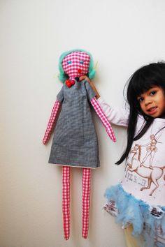 modern form of Em's old doll