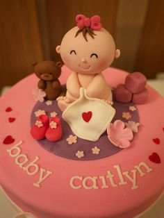 baby girl fondant - Google Search