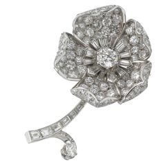 BOUCHERON  flower-clip