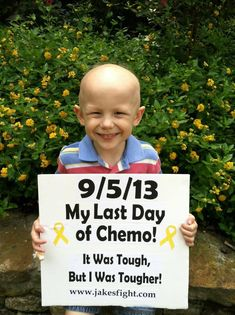 Jake's Fight Against Ewing's Sarcoma: Last day of chemo!