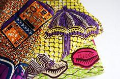 african fabrics by Rosa Pomar, via Flickr