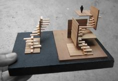 shifting grounds study models #architecture #model