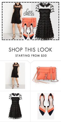 """""""Valentino"""" by ordalie ❤ liked on Polyvore featuring RED Valentino, Rebecca Minkoff and Zara"""