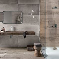 Bildergebnis für badezimmer beton holzoptik