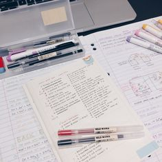 studyblr, notes, and school image School Motivation, Study Motivation, Studyblr Notes, Hate School, Study Pictures, Study Organization, Pretty Notes, You Better Work, Study Hard