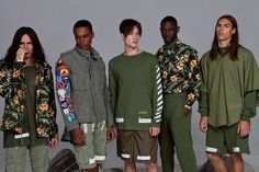 The men's collection for Off-White SS15