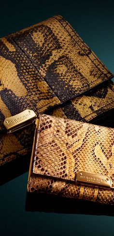 Statement clutch bags from the new Burberry A/W13 collection