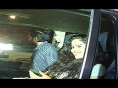 Riteish Deshmukh & Genelia D'Souza at The Korner House, Mumbai.