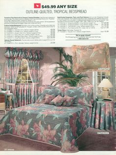 Your dream bedroom once looked like this. | The 22 Most Embarrassing Pages Of The 1990 JC Penney Christmas Catalog