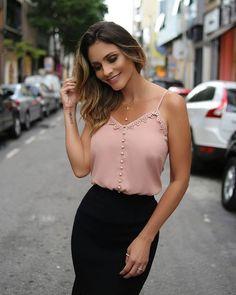 {Preview Summer} Detalhes desta blusa super delicada!
