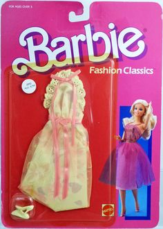 Barbie Doll Fashion Classics #2890 New NRFP 1986 Mattel, Inc. 3+ #MattelInc