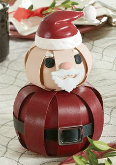 Get this adorable Santa to help decorate for the holidays! Shop at www.longaberger.com/chrisnagle Small Santa-12736