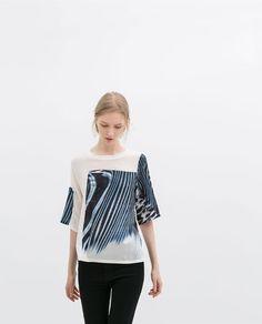 Image 1 of PRINTED T-SHIRT from Zara $49.90