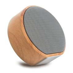 Grab it fast Mini Bluetooth Speaker, GIZEE Portable Retro Wood Grain Audio Bass TF Card Aux-in USB Smart Phone Tablet Computer Music Player for Home Indoor Outdoor (Black) Mini Bluetooth Speaker, Sound Speaker, Stereo Speakers, Bose Wireless, Wooden Speakers, Bluetooth Gadgets, Small Speakers, Portable Speakers, Electronics Gadgets
