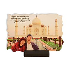 WOODEN PLAQUE WITH PHOTO COLLAGE