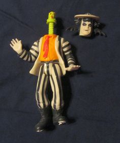 Showtime! Beetlejuice Action Figure 1989. Part of a bag of action figures for 2.99 at Goodwill.