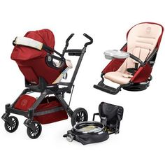 This is the one... Orbit Baby Infant Travel Collection G3 - Ruby / Slate Orbit Baby