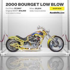 2000 Bourget Low Blow #motorcycle #Harley RumbleOn.com