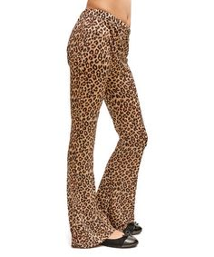 Love this Brown Cheetah Pants on #zulily! #zulilyfinds