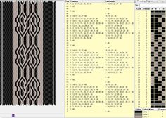 40 tarjetas, 3 colores, repite dibujo cada 14 movimientos // sed_136༺❁