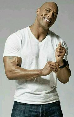 The sexiest look on a man: plain white T and jeans! In simplicity lies beauty.