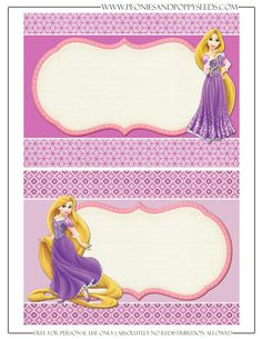 Erleen is Turning 6 Rapunzel Birthday Party, Princess Theme Party, Tangled Party, Disney Princess Party, 3rd Birthday Parties, Princess Birthday, Disney Rapunzel, Tangled Rapunzel, Disney Luggage Tags
