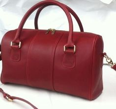 Leather Handbag Made in USA From Merci-Fortune