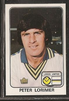 PANINI-FOOTBALL 1979-#192- LEEDS UNITED - PETER LORIMER