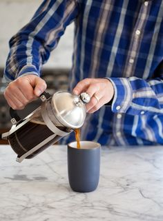 How To Make French Press Coffee — Cooking Lessons from The Kitchn