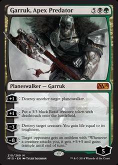 Garruk-Apex-Predator-x1-Magic-the-Gathering-1x-Magic-2015-mtg-mythic-rare