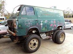 Oddimotive: Confused Van Project