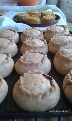 Empanadas de carne sin gluten www.cocinasalud.com